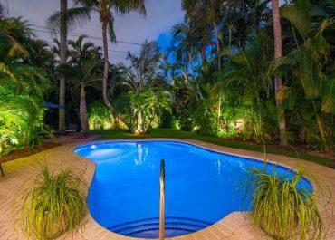 Palm Terrace Pool view