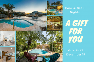 get 5 nights for the price of 4
