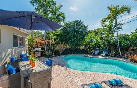 coral gardens outdoor living area
