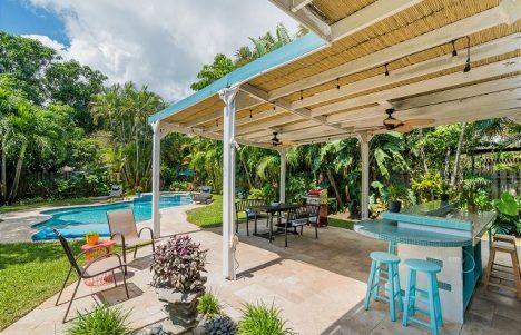 serendipity outdoor living area