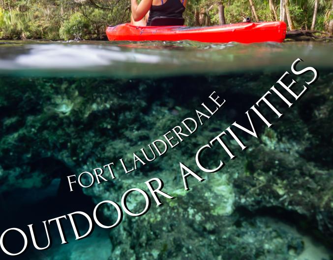 outdoor activities fort lauderdale