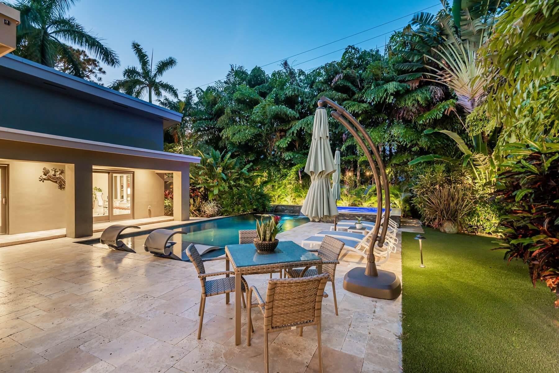 zen den backyard and pool